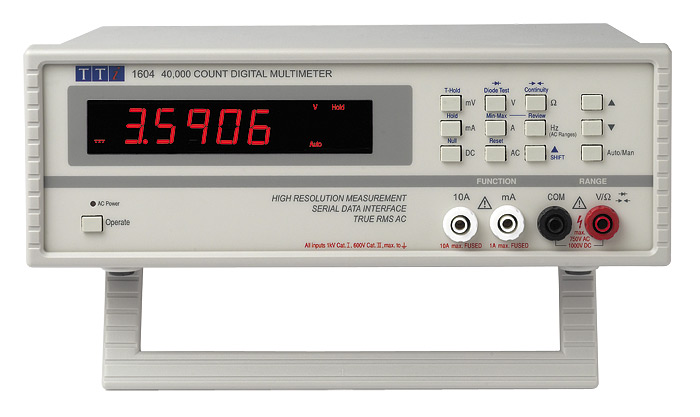 AimTTi  1604 Bench Multimeter