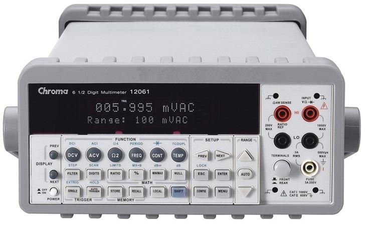 Chroma Model 12061 Bench Multimeter