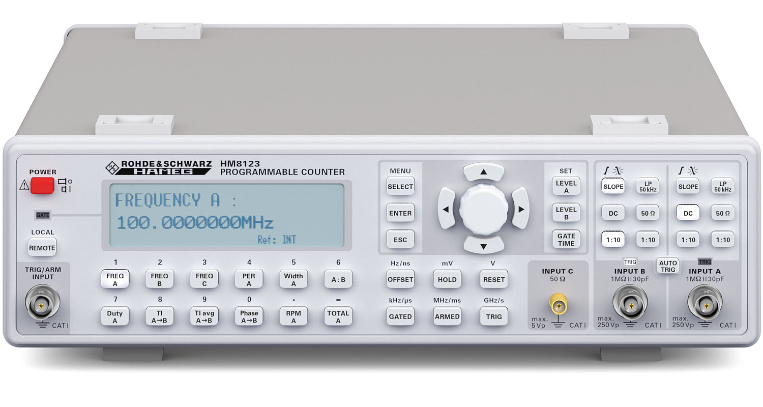 R&S HM8123 3 GHz Universal Counter