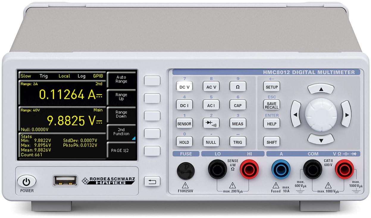 R&S HMC8012 Digitale Multimeter