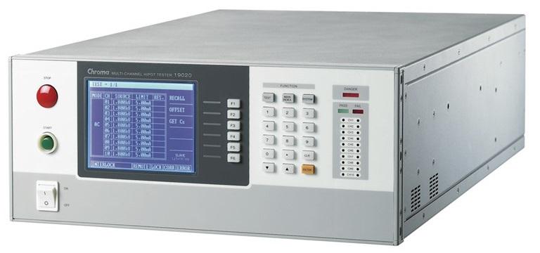 Chroma 19020 Multi-Channel Hipot Tester