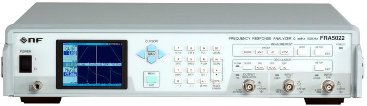 Frequency Response Analyzer : Nf fra frequency response analyzer ttms