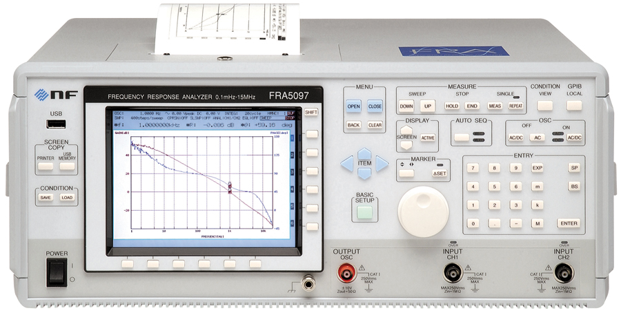 NF FRA50x7 serie Frequency Response Analyzers