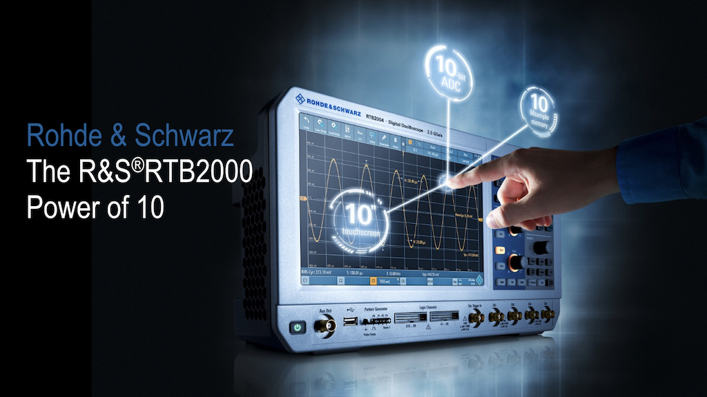 RTB2000 oscilloscoop