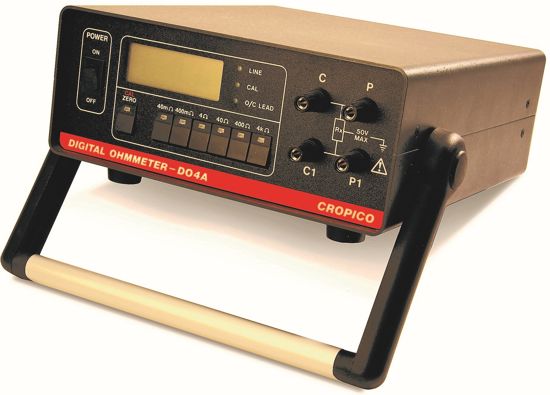 Cropico DO4A digital Ohmmeter