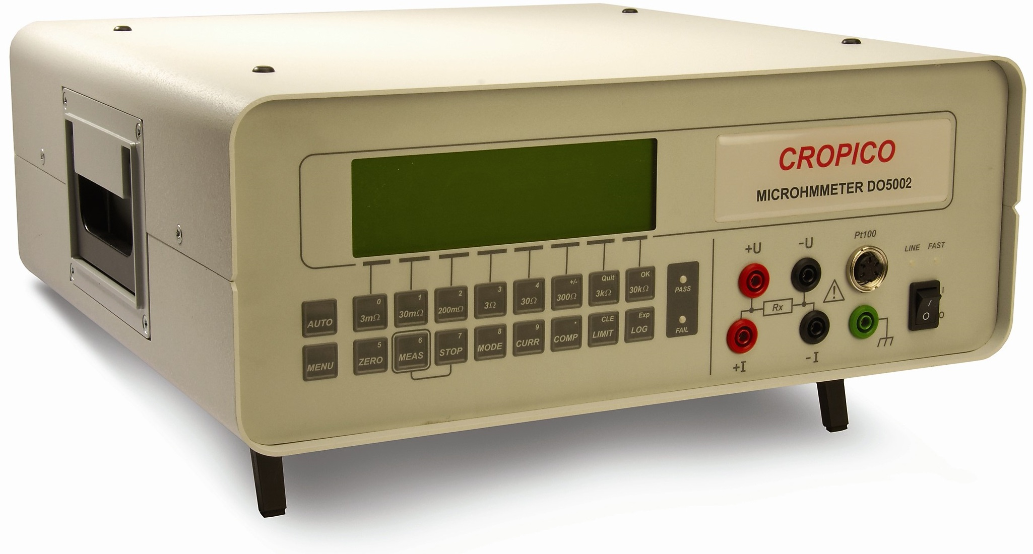 Cropico DO5000 series microOhmmeter