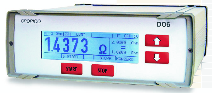 Cropico DO6 microOhmmeter