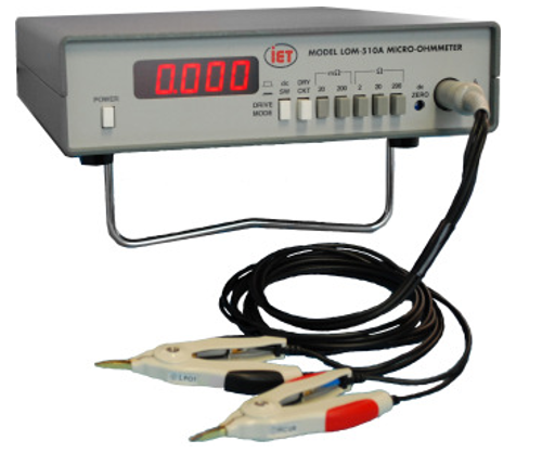 IET LOM-510A microOhmmeter