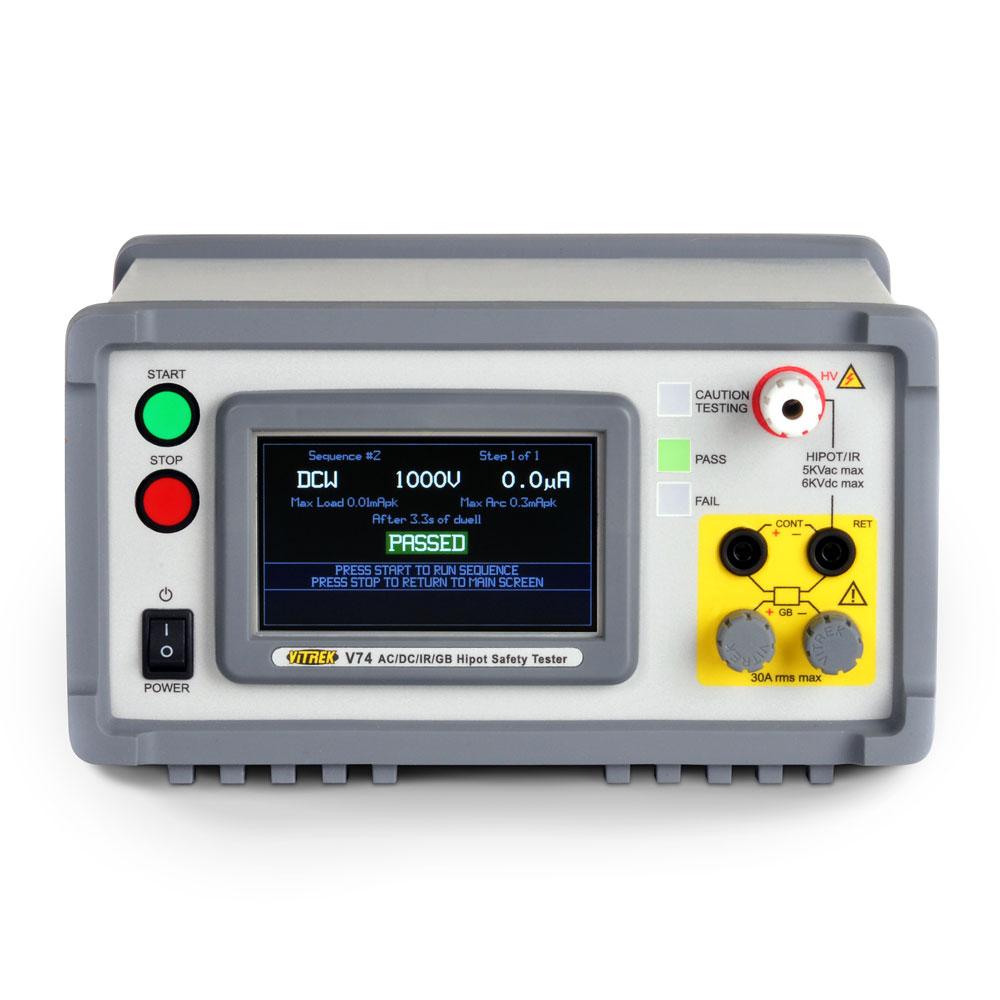 Vitrek V7x serie hipot / safety testers