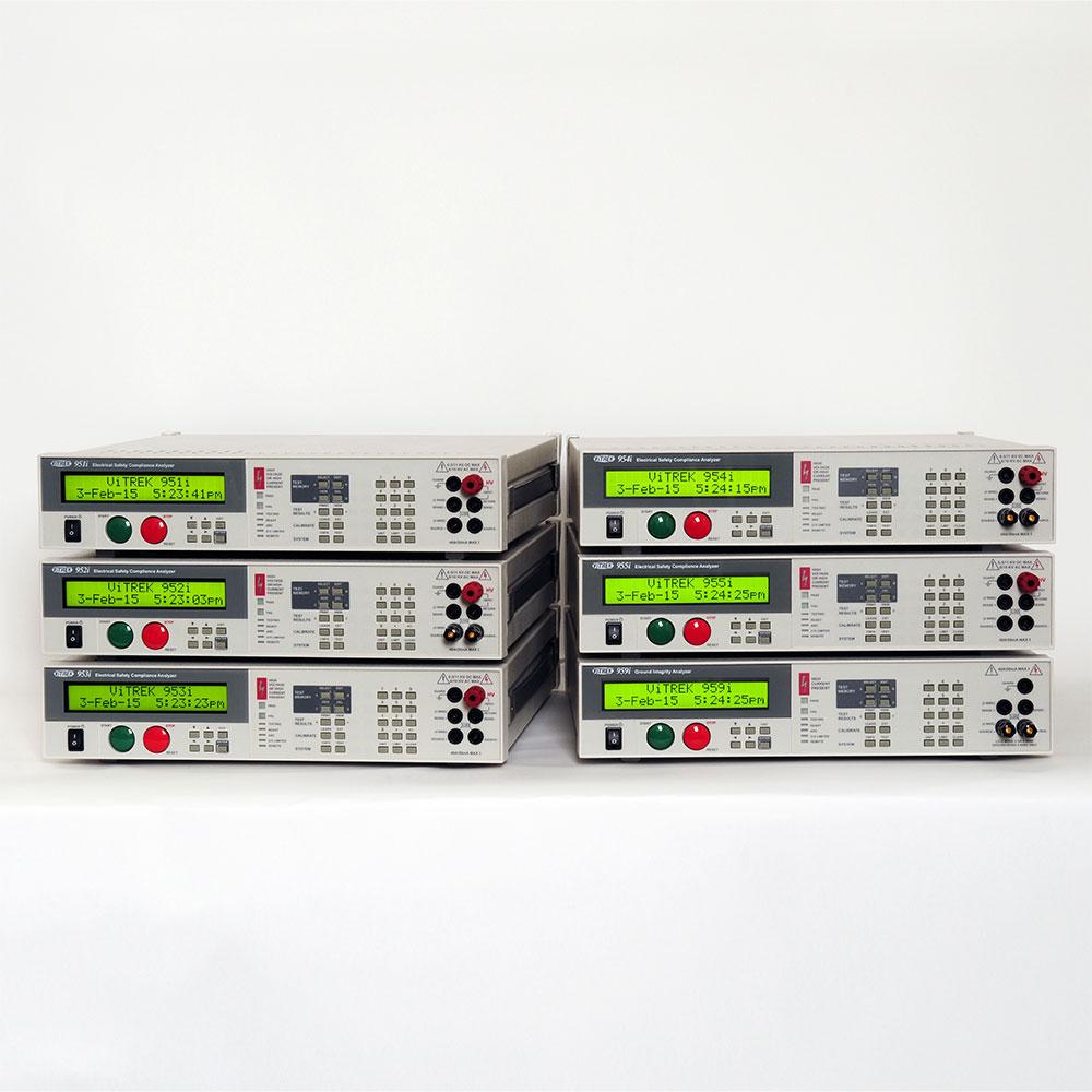 95x serie safety testers van Vitrek