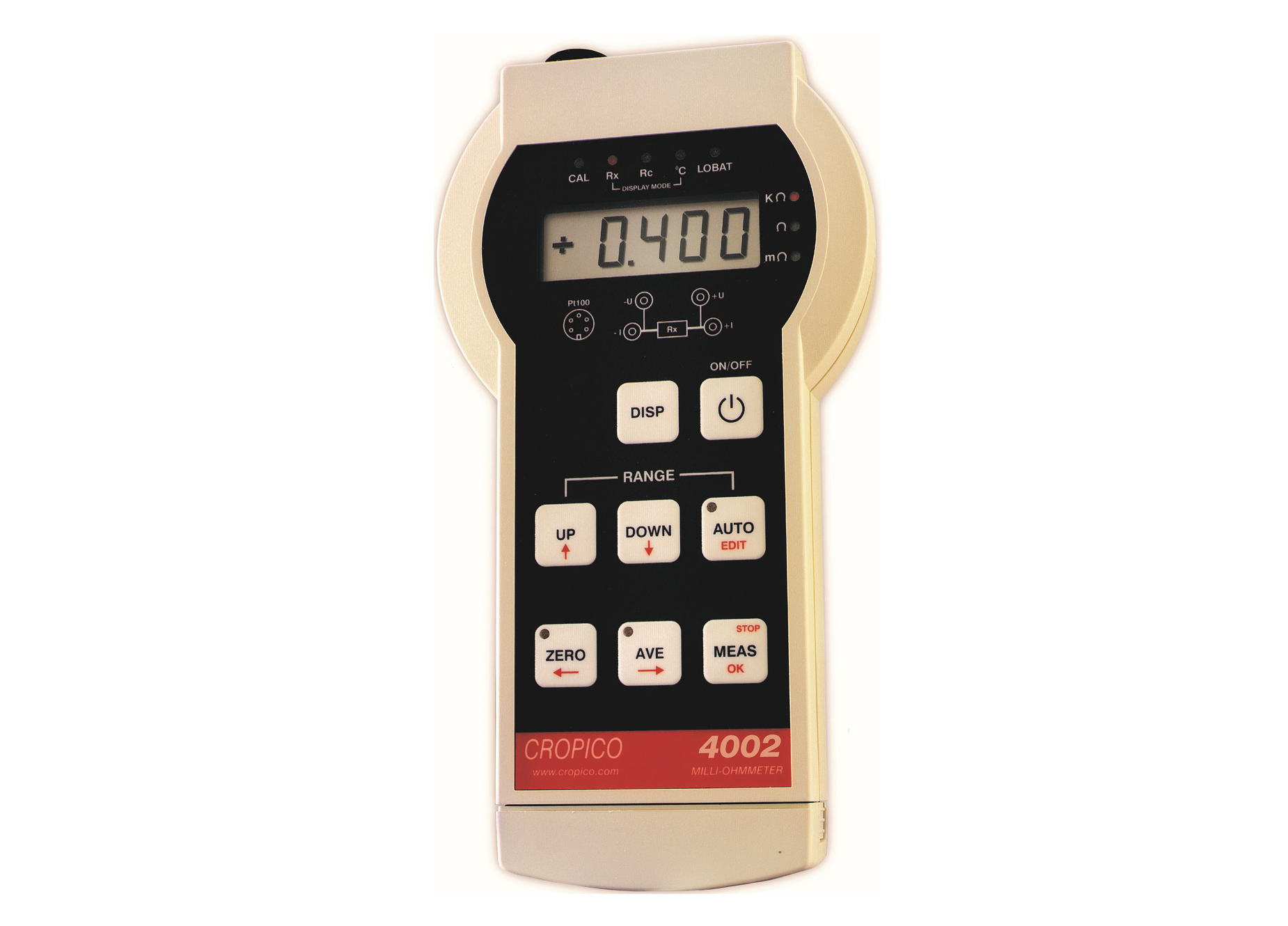Cropico DO4000 series milliOhmmeter