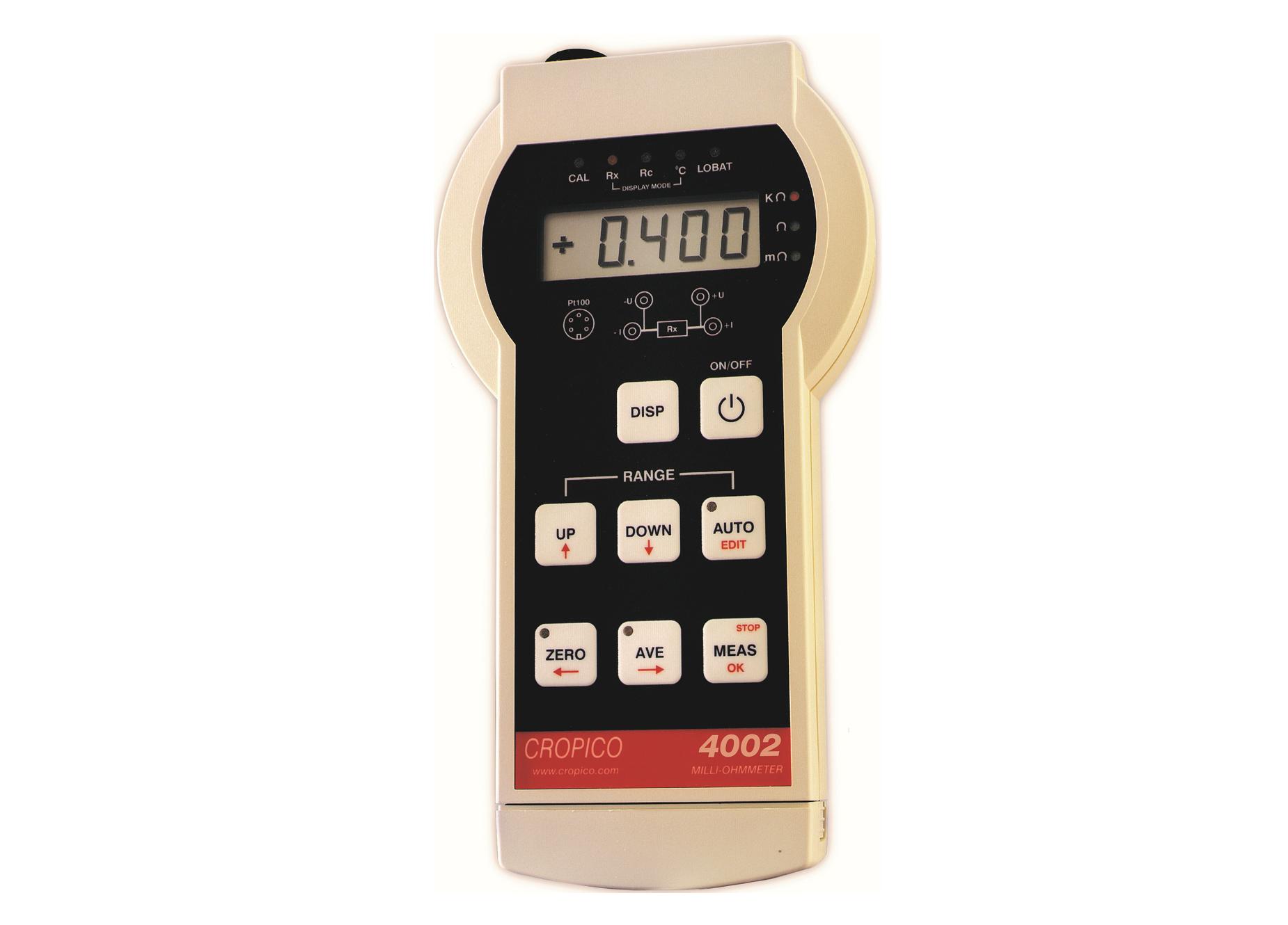 Cropico DO4000 series milliOhmmeter