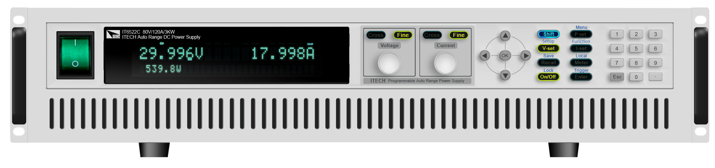 Itech IT6500 serie DC voedingen