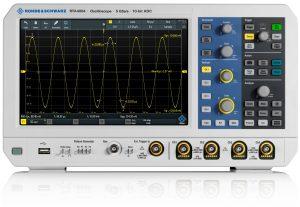 Foto Rohde & Schwarz oscilloscopen RTA4004 oscilloscope
