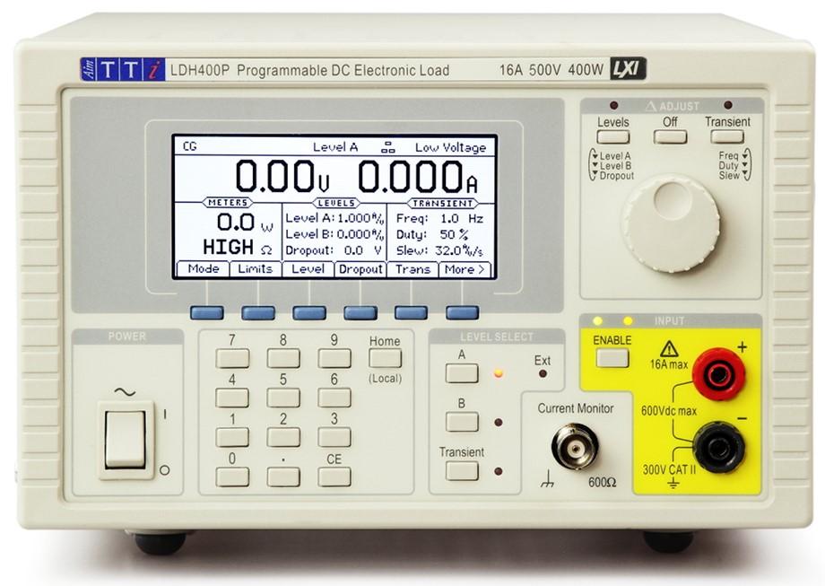 LDH400P elektronische load tot 500V van TTI