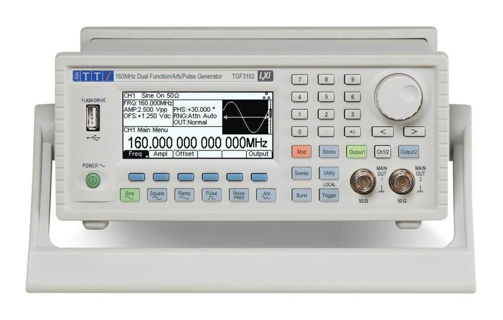 TGF3000 serie Arbitraire Functie Generatoren van TTi