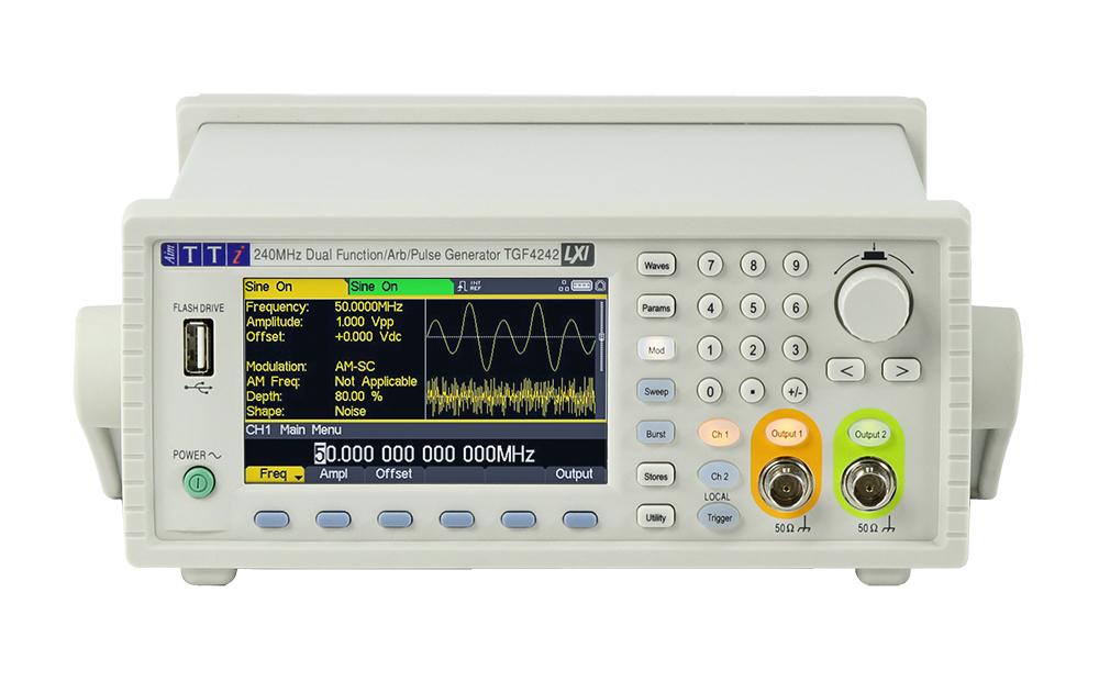 TTi TGF4000 serie arbitraire functiegeneratoren
