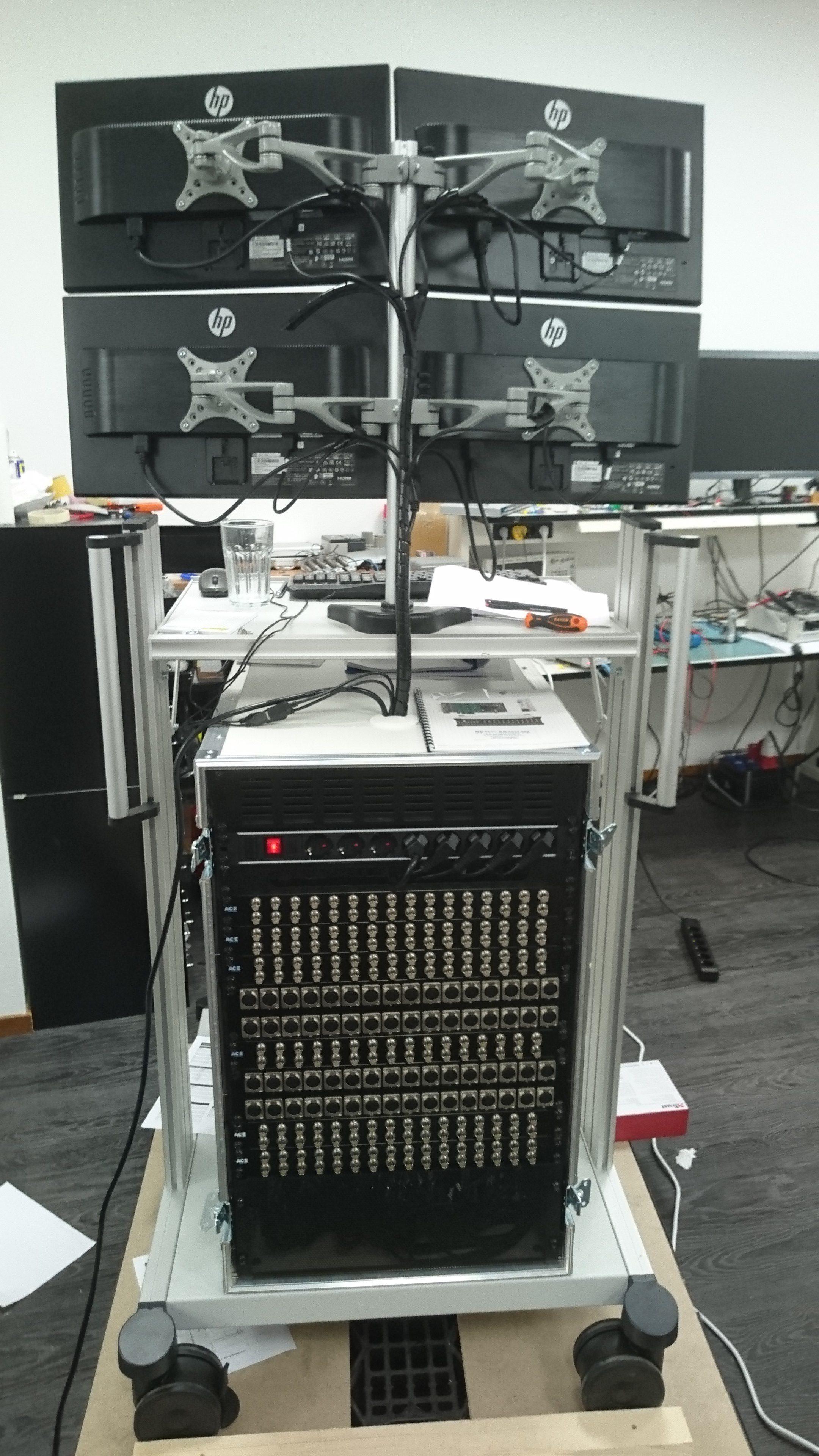 192 kanaals datalogger