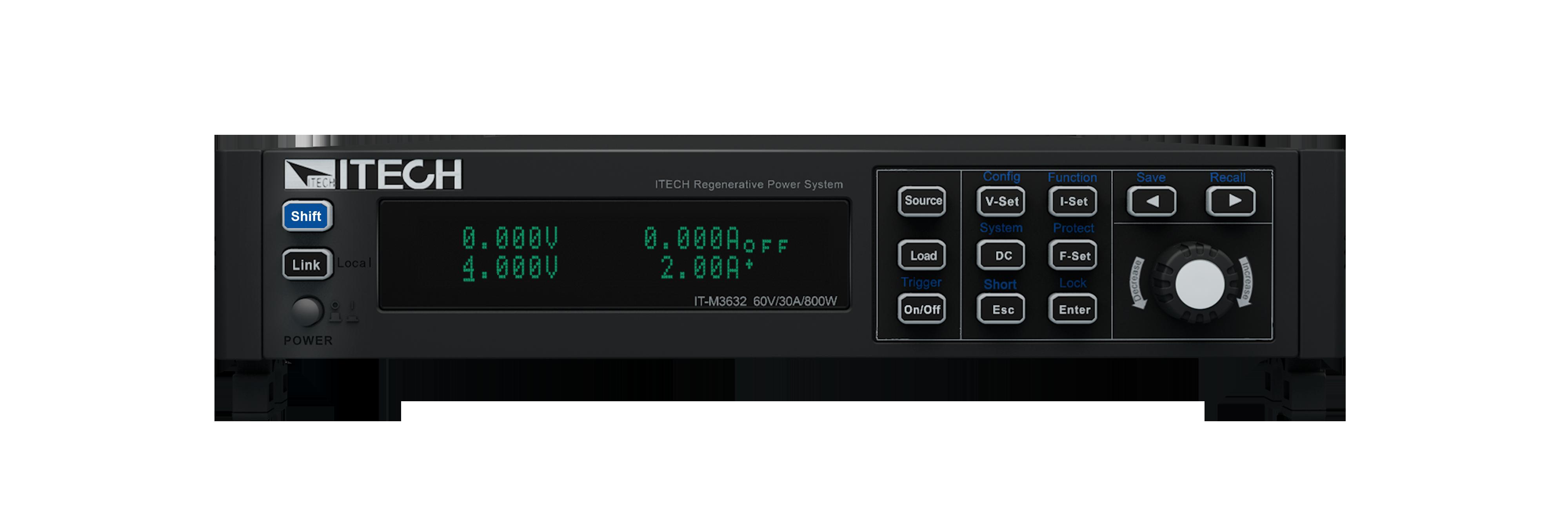 Itech IT-M3600 Regeneratieve Power Systeem
