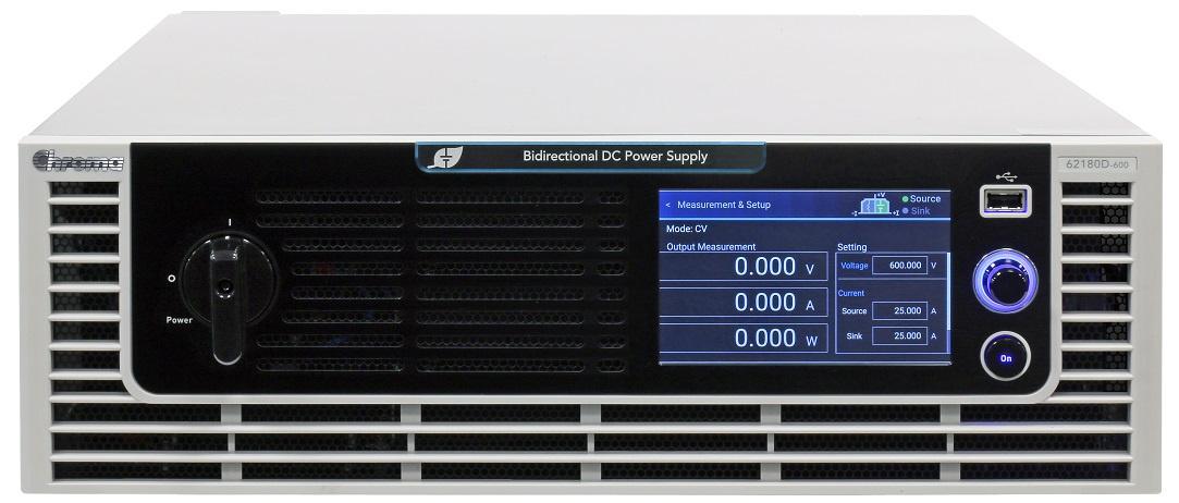 Chroma 62000D Programmeerbare DC Voeding en Belasting