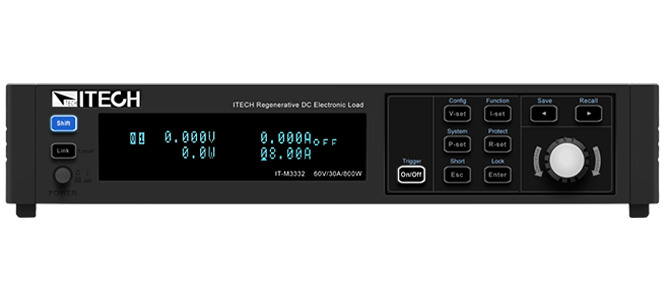Itech IT-M3300 Regeneratieve DC Elektronische Belastingen