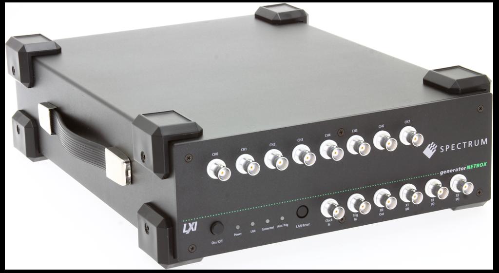 Spectrum DN2.65x serie LXI arbitrary waveform generatoren