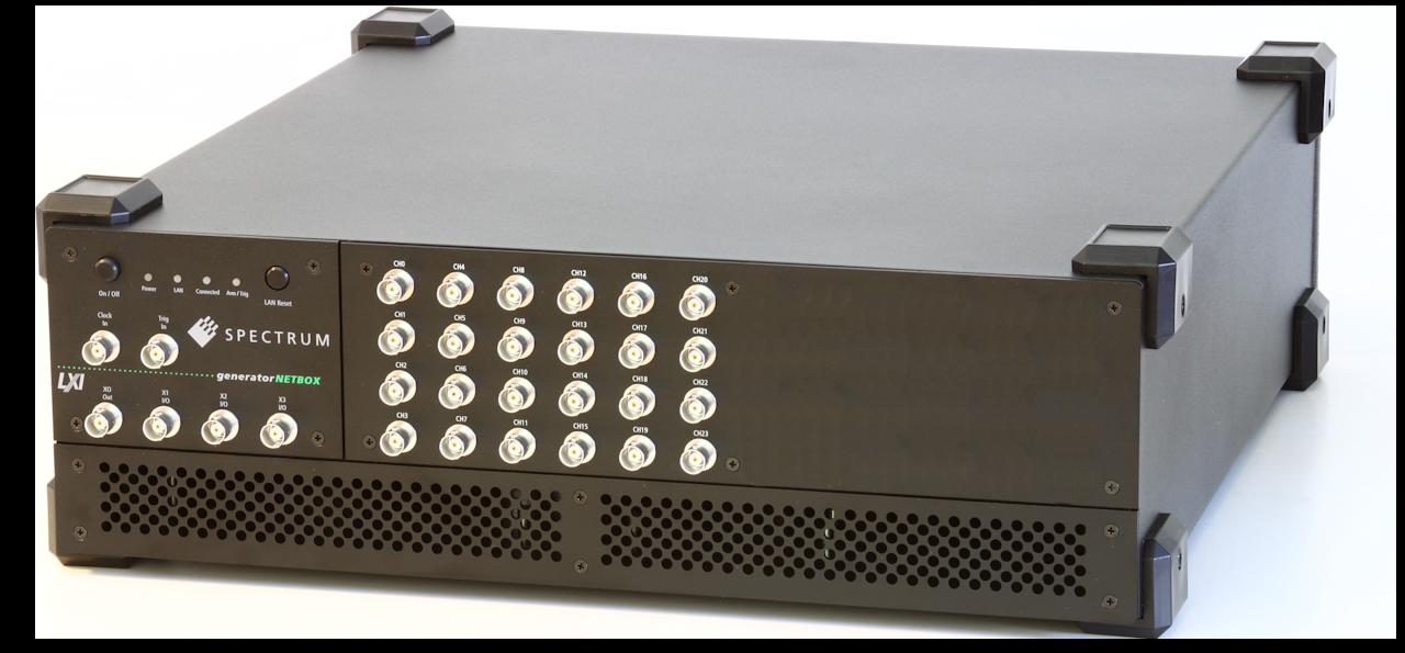 Spectrum DN6.65x serie arbitrary waveform generatoren