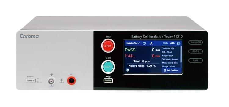 Chroma 11210 Batterij cel Isolatietester
